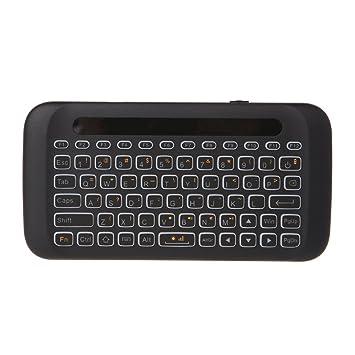 Ranuw H20 Teclado inalámbrico Ratón LED retroiluminado Touchpad para Android TV Box PC Windows: Amazon.es: Electrónica