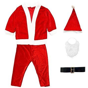 Fiesta Cotigo Disfraz de Papá Noel para Niño - Chaqueta,pantalón ...