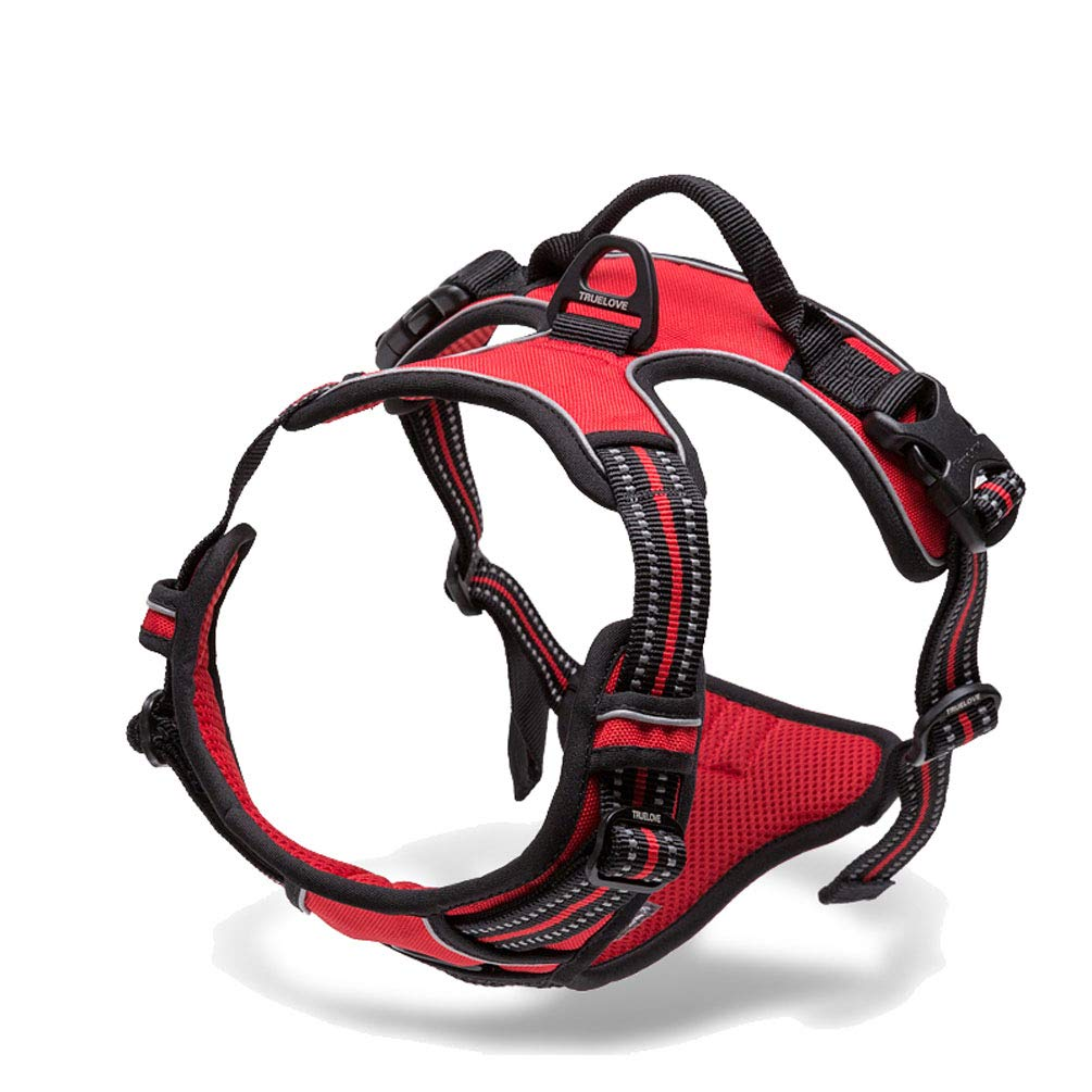 B 43-56cm Glallen Pet Traction Rope Walking Dog Rope Medium Vest Type Big Dog Pet Chest Strap Supplies