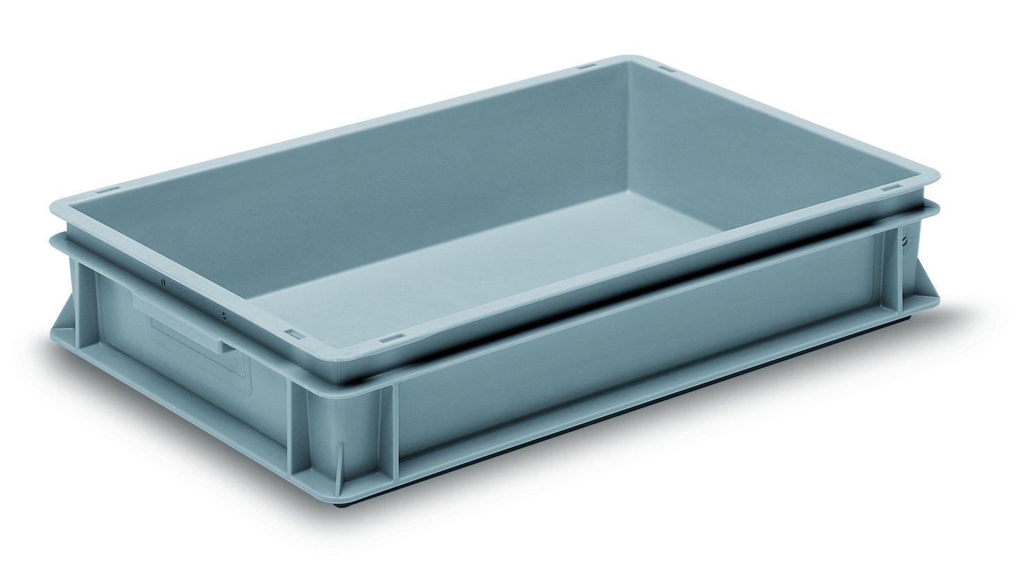GCIP-RAKO GC604012P Container, Rako, PP, 600 mm x 400 mm x 120 mm, Grey GCIP-UTZ