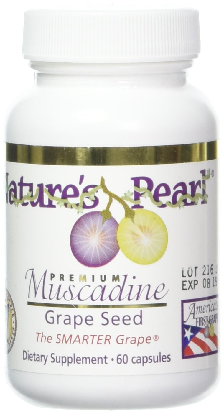N.P. Muscadine Grape Seed 60 capsules, 650mg