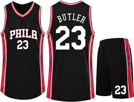 23 Philadelphia 76ers Fan Jersey, Camiseta de Baloncesto para ...