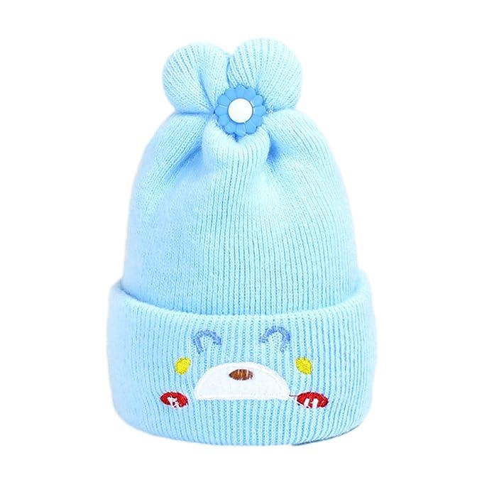 Baby Jungen Mädchen Strikmütze Häkelarbeithut Warm Hüte & Mützen ...