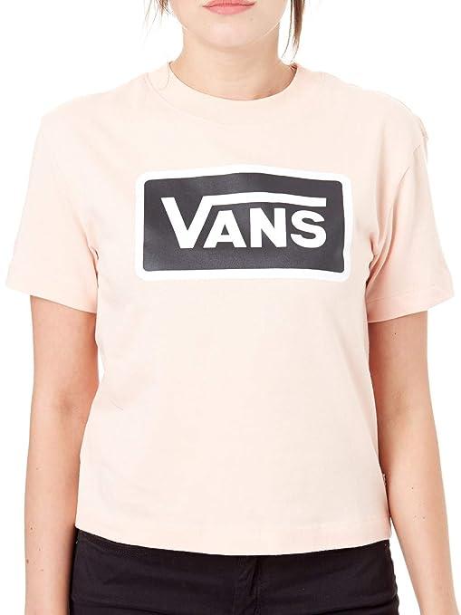 vans maglietta rosa