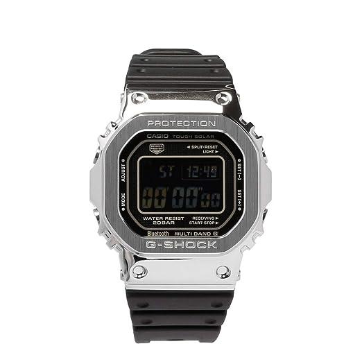 Reloj Casio G-Shock G-Steel 35aniv Acero Caucho GMW-B5000-1ER: Amazon.es: Relojes
