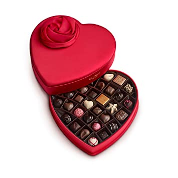 Amazon Com Godiva Chocolatier Valentines Day Keepsake Chocolate