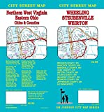 Wheeling WV / Weirton WV / Steubenville OH / Northern WV, West Virginia, Ohio Street Map