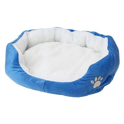 Emorias 1 Pcs Casa para Mascotas Cachorros Gato de Cama Otoño Invierno Cálido Alfombra de Pet