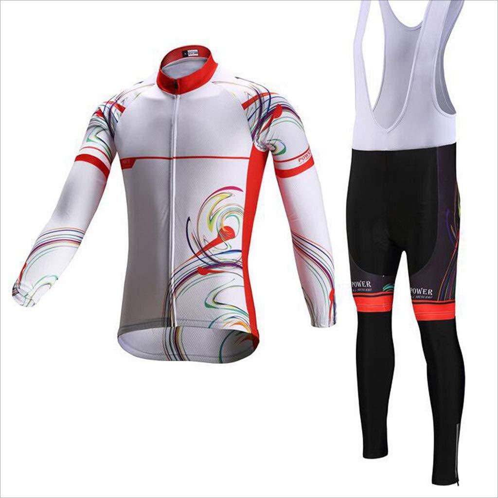 Lilongjiao Radfahren Jersey Männer und Frauen Set Frühling und Sommer Langarm Mountainbike Kleidung Radfahren Ausrüstung Outdoor Sportswear