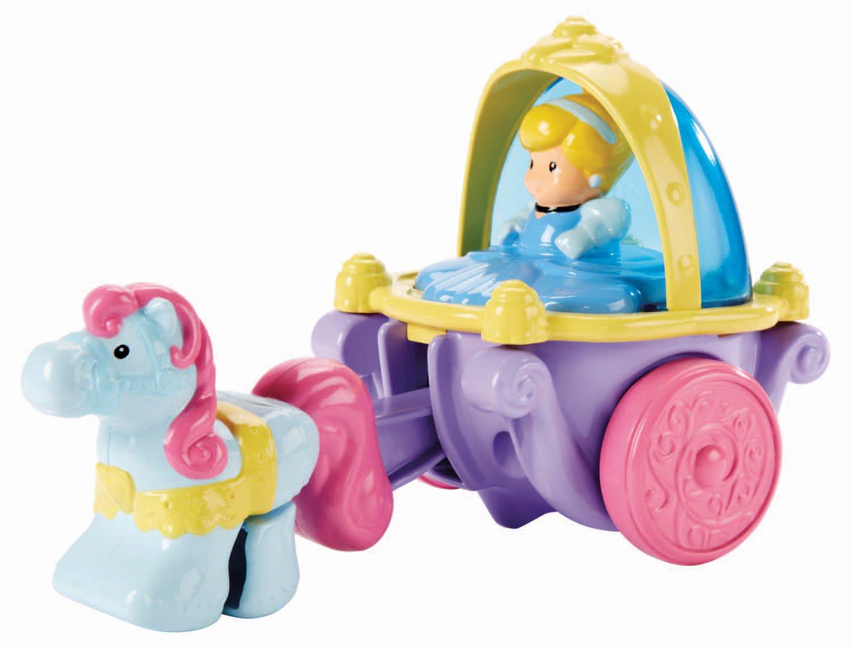 Fisher Price Little People Disney Princess – Klip Klop Cinderella Coach Vehicle