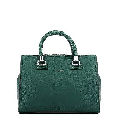 ebba904bcc1e64 Liu Jo Manhattan Handtasche grün: Amazon.de: Bekleidung