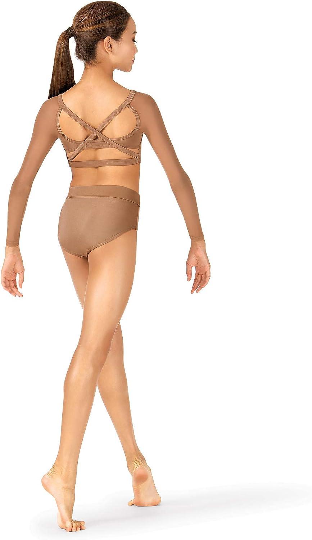 Body Wrappers Child High Waist Performance Briefs NL094