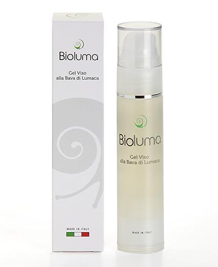 Bioluma - Baba de caracol - Gel facial de 50 ml con alantoína, elastina,
