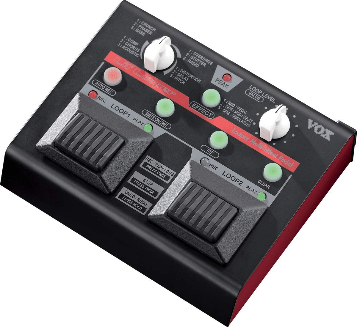 VOX Lil' Looper Multi Effects Pedal Image
