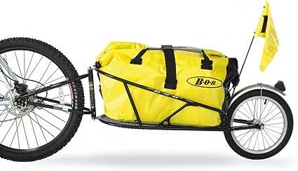 Rimorchio Bicicletta Trasporto Carretto  carico 35kg Ruote Mountain bike