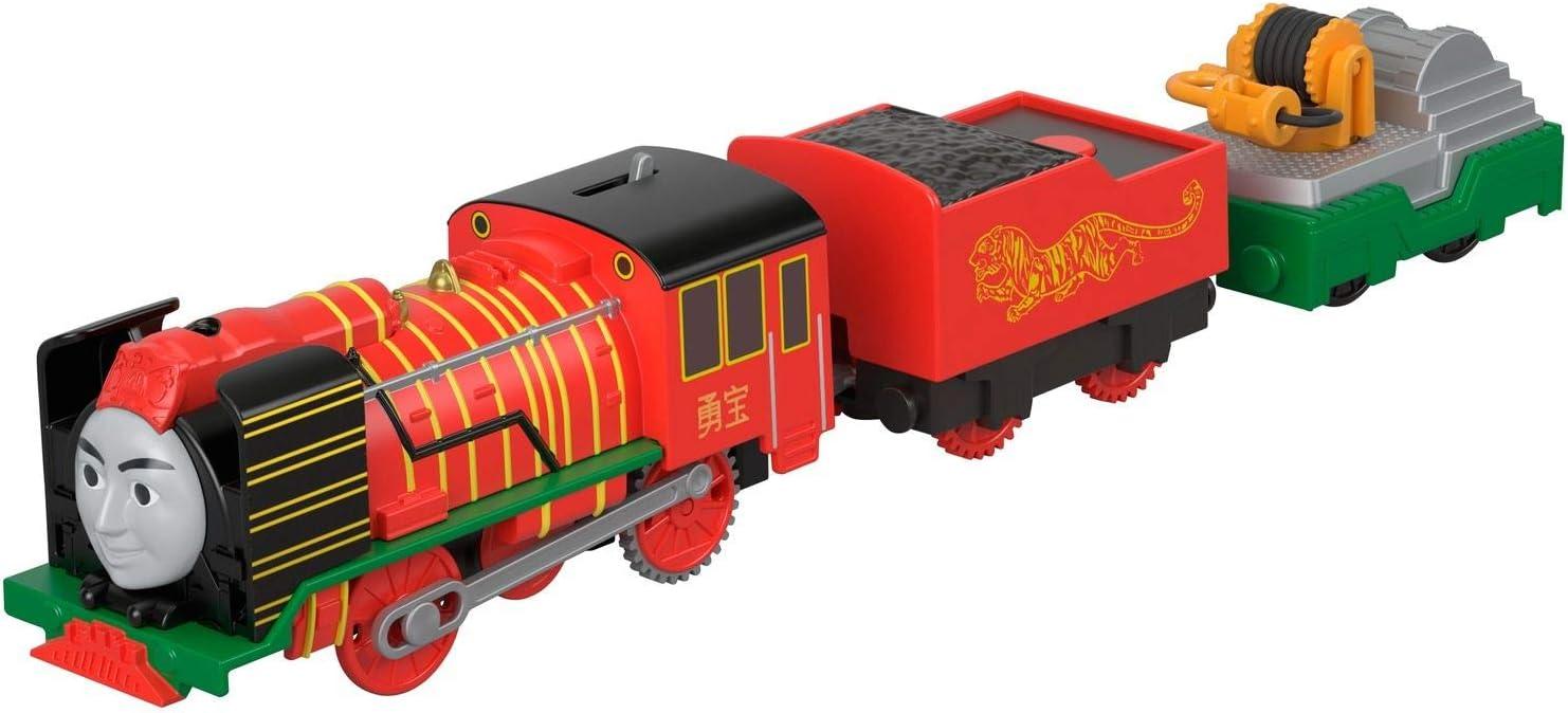 Thomas and Friends Tren de Juguete de la Locomotora Yong Bao, Juguetes Niños 3 Años (Mattel FJK57)