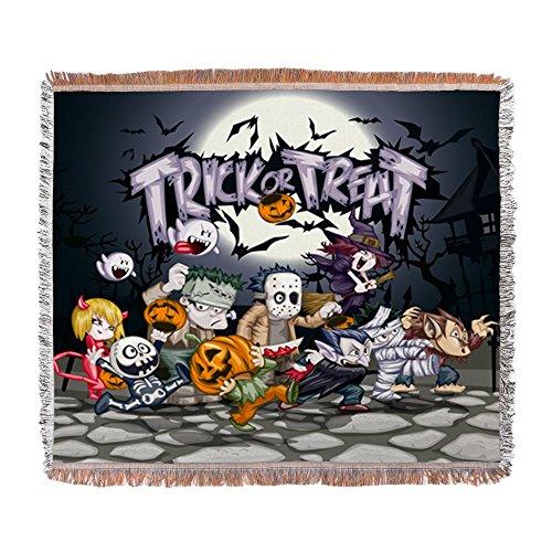 Woven Blanket Halloween Trick or Treat Costumes