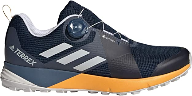 adidas Terrex Two Boa Gore Tex Zapatillas de Trail Running Navy: Amazon.es: Deportes y aire libre