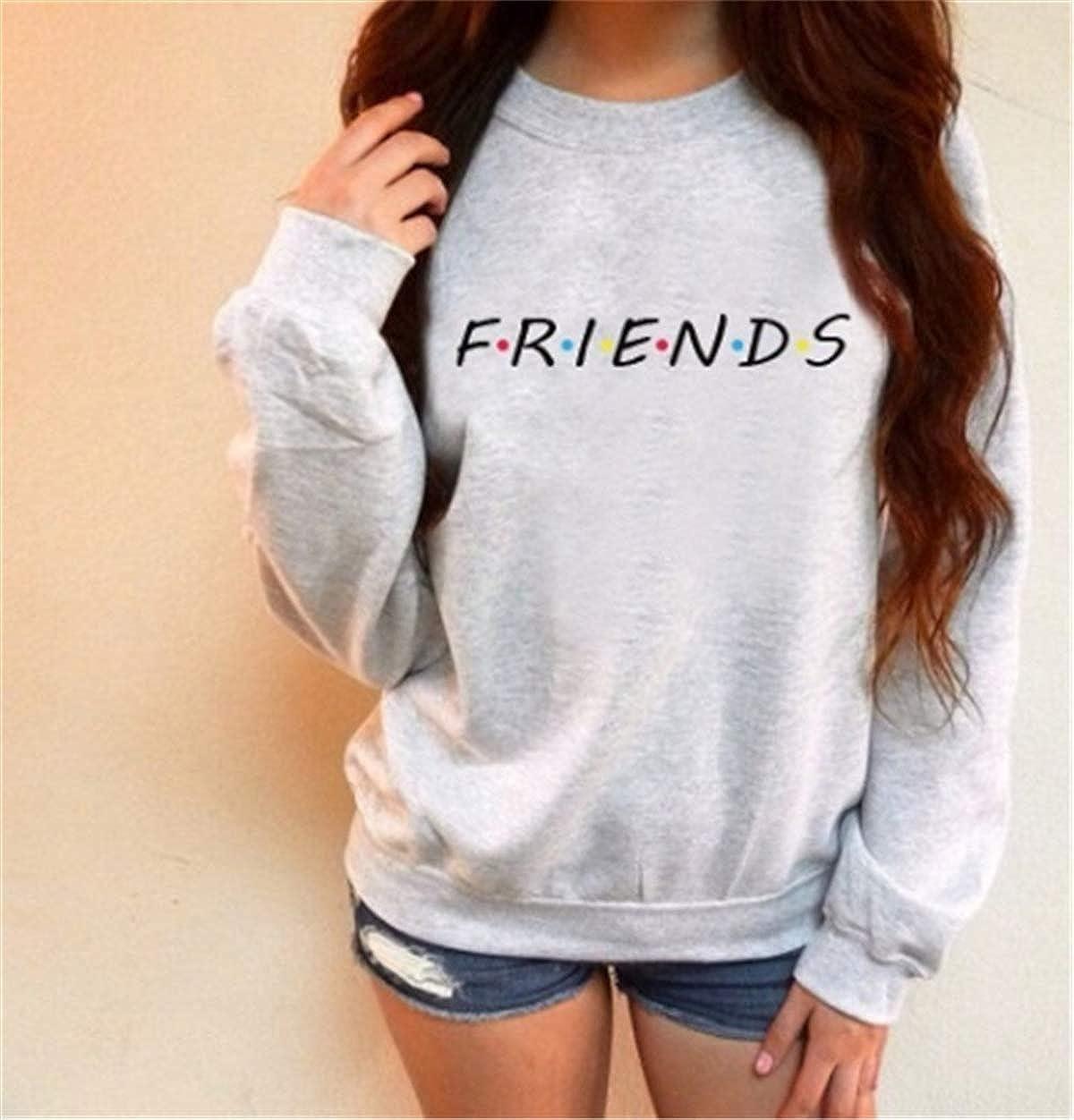 MCieloLuna Womens Casual Friends TV Show Pullover Sweatshirt