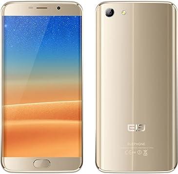 ELE Elephone S7 Smartphone 4 G Android 6.0 Helio X20 Deca Core 4 GB + 64GB, 5.5 JDI Pantalla 1080 * 1920px, Dual Camera 13 MP + 5MP, Front Fingerprint: Amazon.es: Electrónica