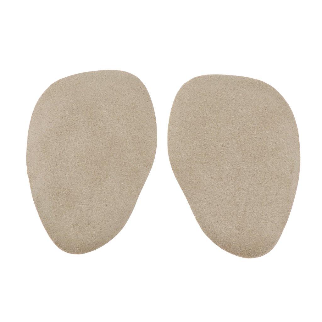 Albicocca 10 x 7 x 0.3 cm Baoblaze 5 Pezzi Pastiglie Scarpe Cuscinetti Metatarsali Mezza Punta Piedi Accessorio