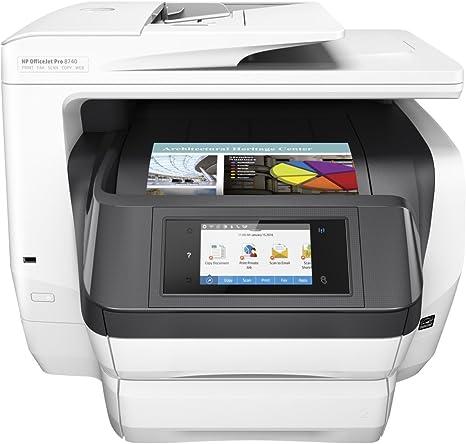 HP OfficeJet Pro Impresora All-in-One Pro 8740 - Impresora ...