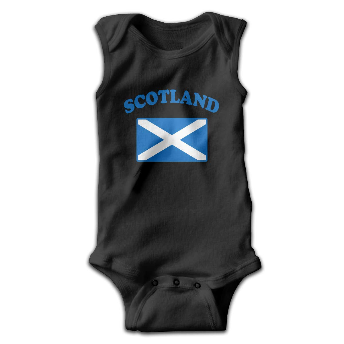 MMSSsJQ6 Flag of Scotland Infant Baby Boys Girls Infant Creeper Sleeveless Rompers Romper Jumpsuit