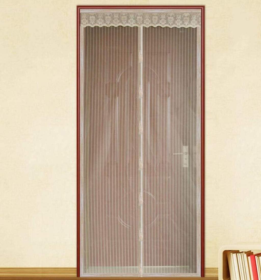 Cortina anti mosquitos, puerta de malla de malla de fibra de ...