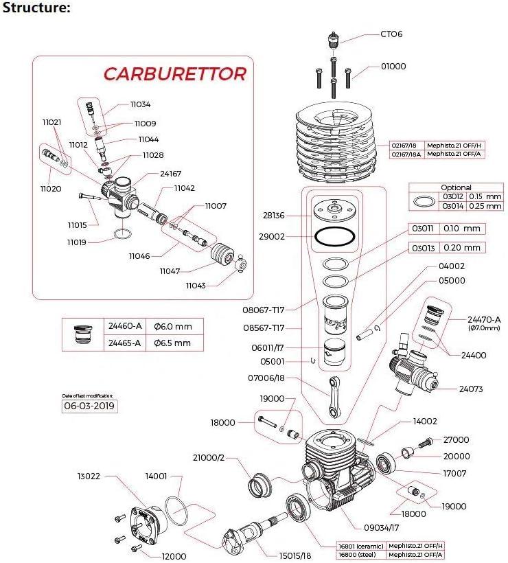 SUOFEILAIMU-PHONE CASE Durable Bearing MR258146E Rear Engine Ball Bearing 14x25.8x6mm ABEC-3 C3 Polymite Nylon Cage T46 Bearings for NOVAROSSI.21 1PC Size : 14x25.8x6mm 1PC