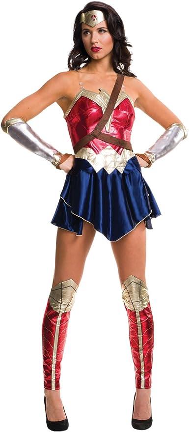 DC Comics - Disfraz de Wonder Woman para mujer, Talla L adulto ...