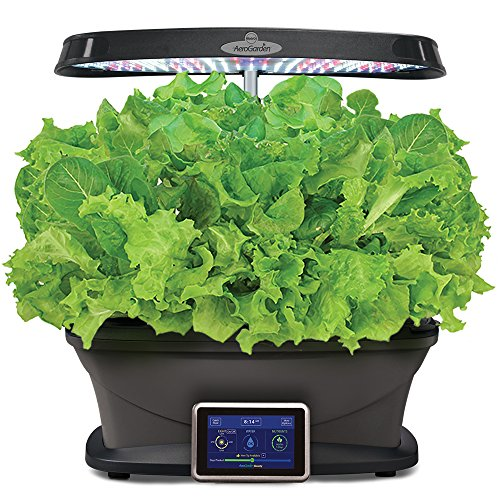 Led Kitchen Garden Year Around Counter Top Culinary Herb: AeroGarden Bounty With Gourmet Herb Seed Pod Kit