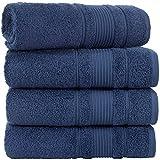 Qute Home 100% Turkish Cotton Bath Towels