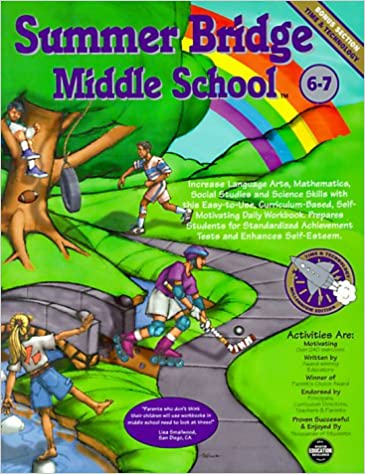 Summer Bridge Middle School Grades 6-7 (Summer Bridge Activities ...