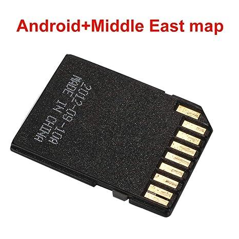 xinzhi Tarjeta SD de 16G GPS Map, Tarjeta de Memoria de ...