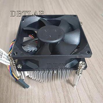 DBTLAP Ventilador DE LA CPU Compatible para DELL OptiPlex 7010 CPU ...