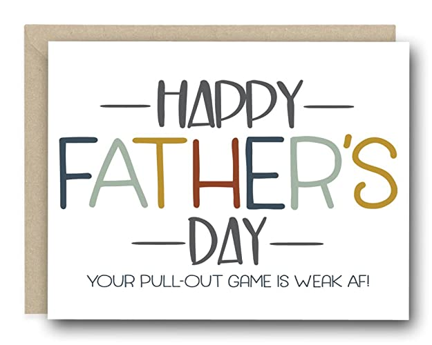 Amazon funny greeting cards happy fathers day your pull out funny greeting cards happy fathers day your pull out game is weak m4hsunfo