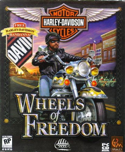 Harley Davidson: Wheels of Freedom - PC (Video Game Davidson Harley)
