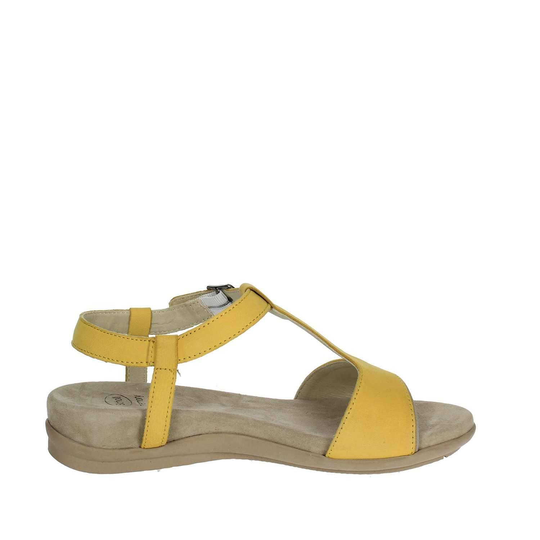 Scholl Scarpe Donna Sandali NASHIRA in Pelle Giallo F26645-1067-400 5474127e240