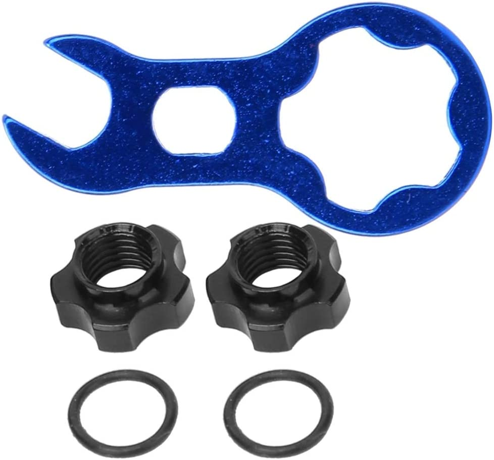 REOUG RA 109 Mountain Bicycle Wheel Rims Valve Conversion Nut Adapter Nut Kit Cycling Accessory