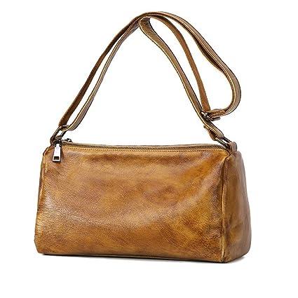 537f1730eb HEYJIE Evening Clutch Bag 2018 New Casual Shoulder Bag Messenger Bag Leather  Color Handbag Retro Small