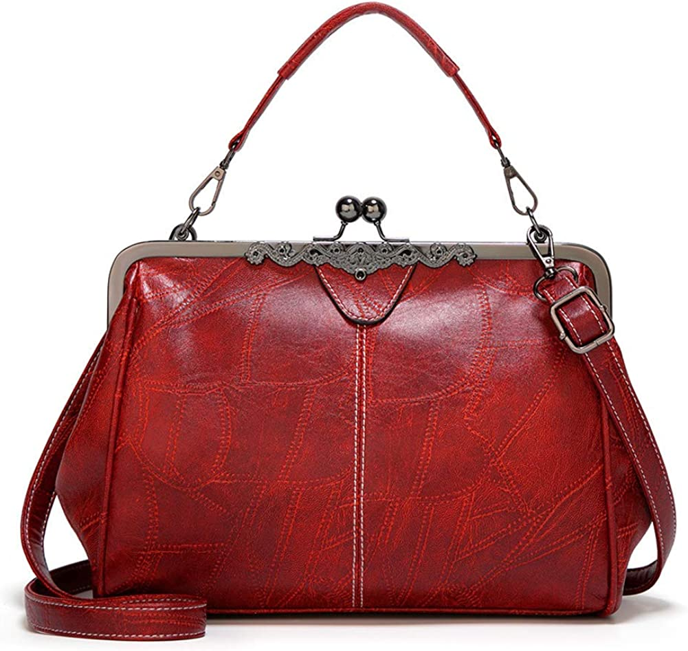 Retro Shoulder Bag Handbag...