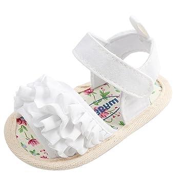 366a46b660d3e Amazon.com : Lanhui Baby Flower Sandals Shoe Casual Shoes Sneaker ...