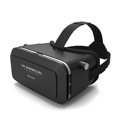 12 opinioni per 3D VR occhiali, Blusmart 3D VR auricolare realtà virtuale Box con lente