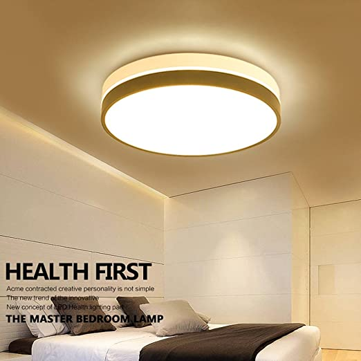 online store 344db 3d06d Good thing Ceiling light Round Bedroom Lights Modern Simple ...