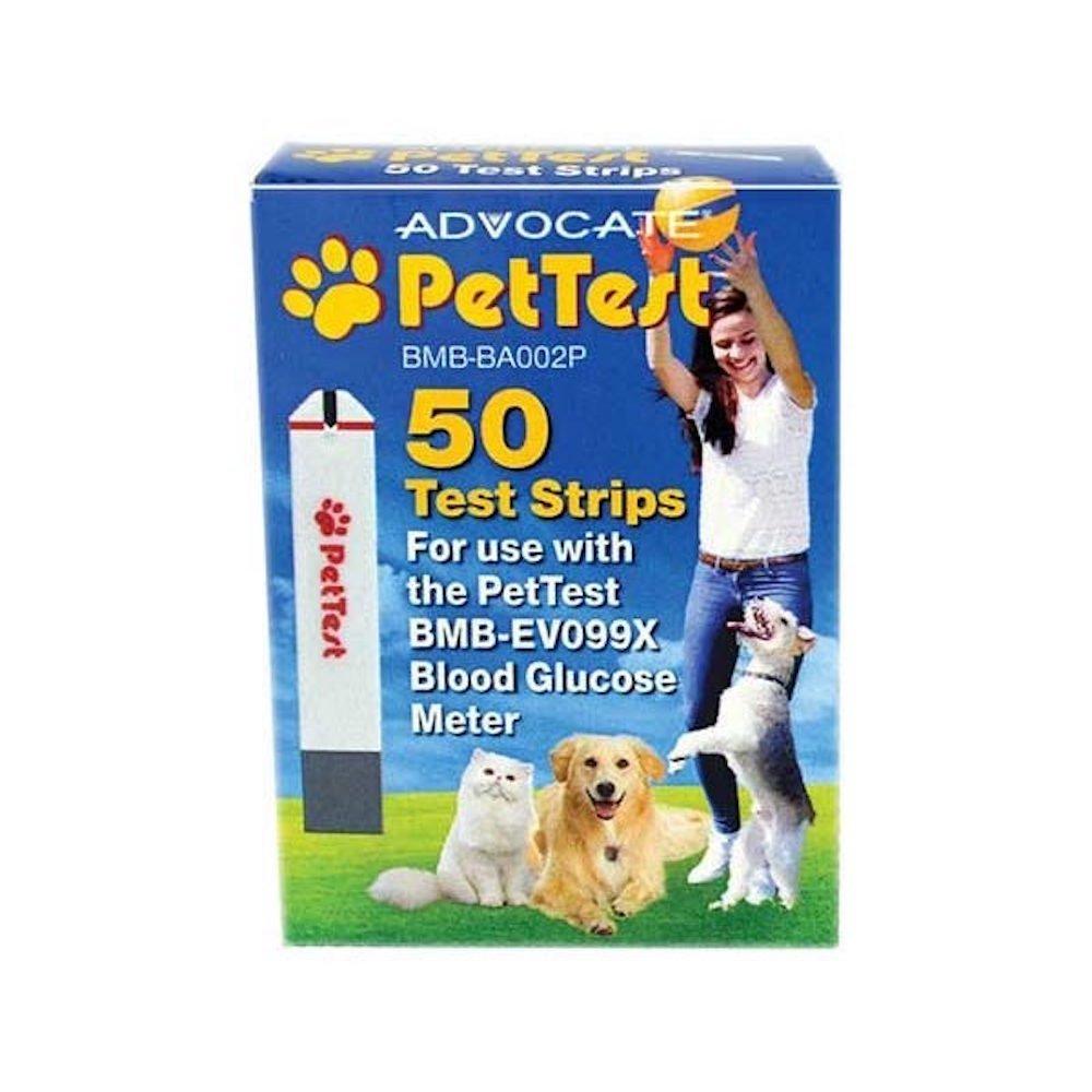 Advocate PetTest Test Strips 50 per Box PT-105 by Advocate