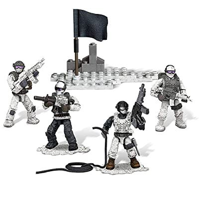 XDT 4pcs/Set Military Army Weapons Accessories Building Block Call of Duty Soldiers Mini Toys Figure Set: Toys & Games