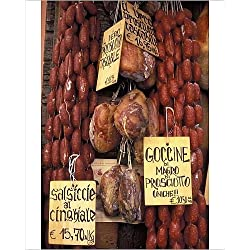 Photographic Print of Delicatessen shop, Norcia, Umbria, Italy, Europe