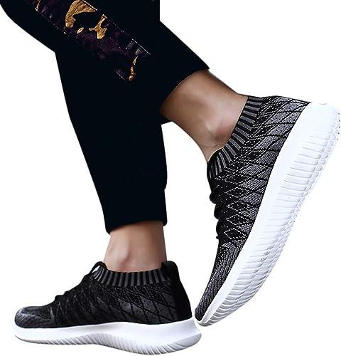 Sencillo Vida Zapatillas de Running para Hombre Zapatillas de Deporte Unisex Adulto Sneakers Hombres de Cordones Transpirables Zapatos Casuales para Correr Gimnasio Senderismo Aire Libre: Amazon.es: Zapatos y complementos