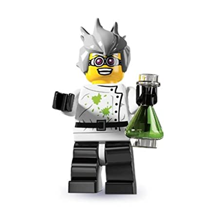 Lego Collectible Minifigure Series 11 Lady Scientist In Hand
