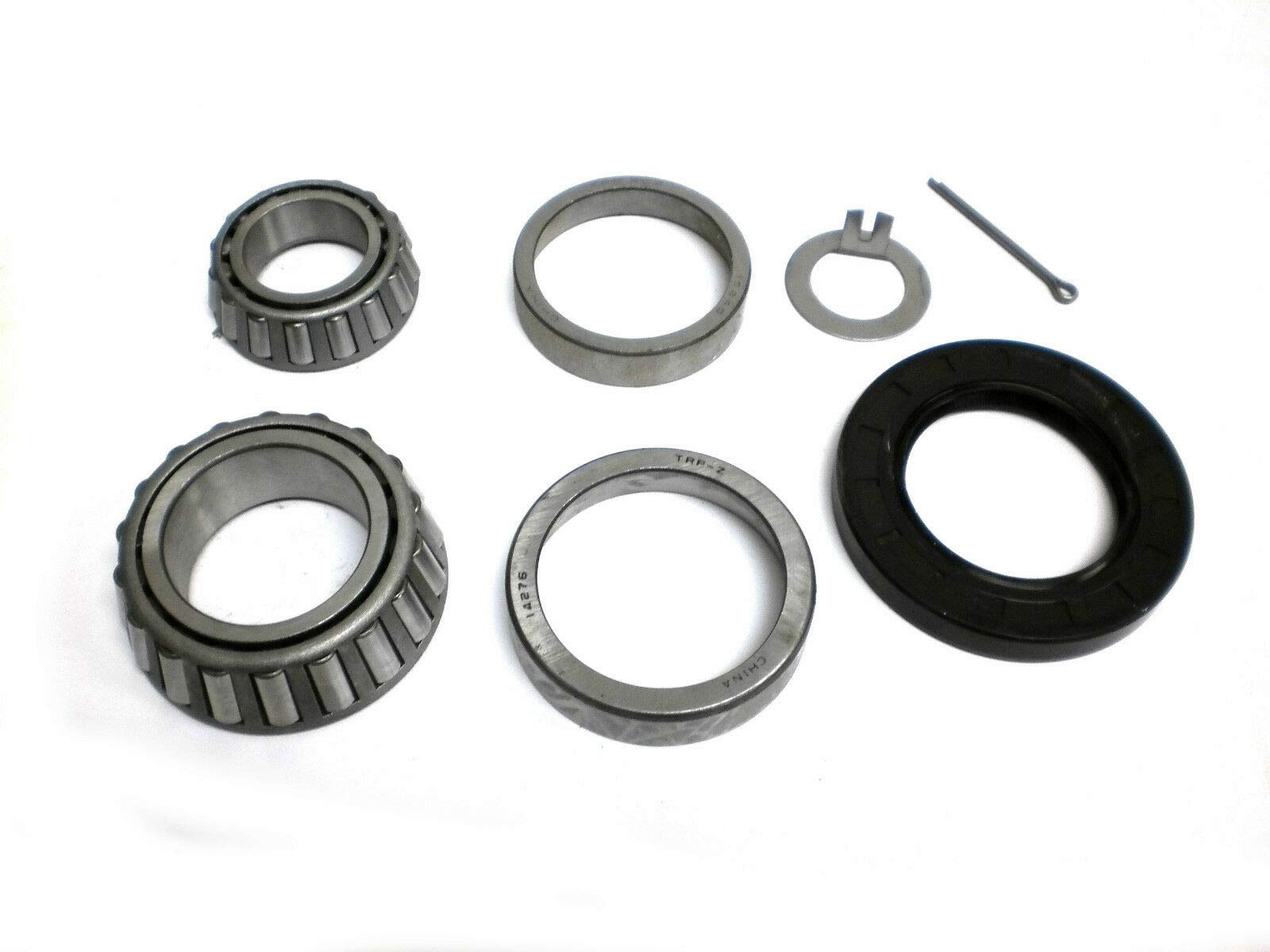 Complete Trailer Bearing Kit for 6000# Axles #42 Spindle 15123/22580 Bearings by unbrand